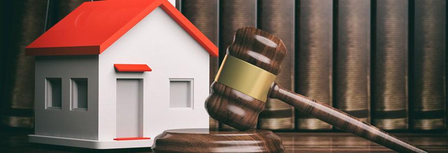 Vente immobilière aux enchères de biens saisis