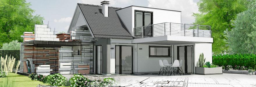 Modèle de maison familiale